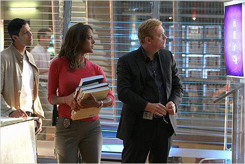 Les Experts : Miami : Photo Adam Rodriguez, David Caruso, Eva LaRue