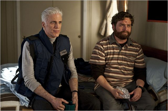 Bored To Death : photo Ted Danson, Zach Galifianakis