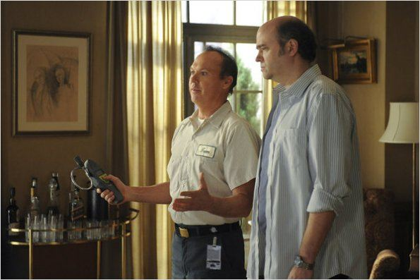 Photo Michael Keaton, Scott Adsit