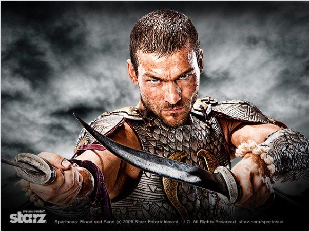 Spartacus : Photo Andy Whitfield