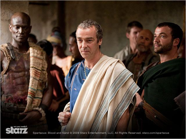Spartacus : Le sang des gladiateurs : Photo John Hannah, Nick Tarabay, Peter Mensah
