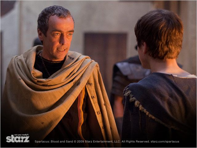 Spartacus : Photo John Hannah, Lliam Powell, Lucy Lawless