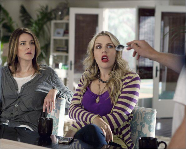 Photo Busy Philipps, Christa Miller-Lawrence