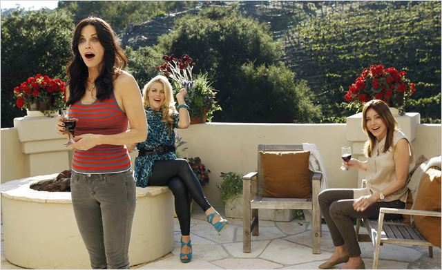 Cougar Town : photo Busy Philipps, Christa Miller-Lawrence, Courteney Cox