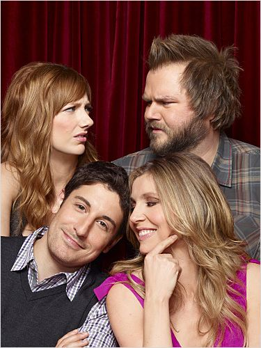 Mad Love : photo Jason Biggs, Judy Greer, Sarah Chalke, Tyler Labine