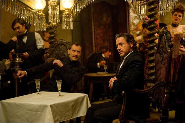 Sherlock Holmes 2 : Jeu d&#39;ombres : Photo Guy Ritchie, Jude Law, Robert Downey Jr.