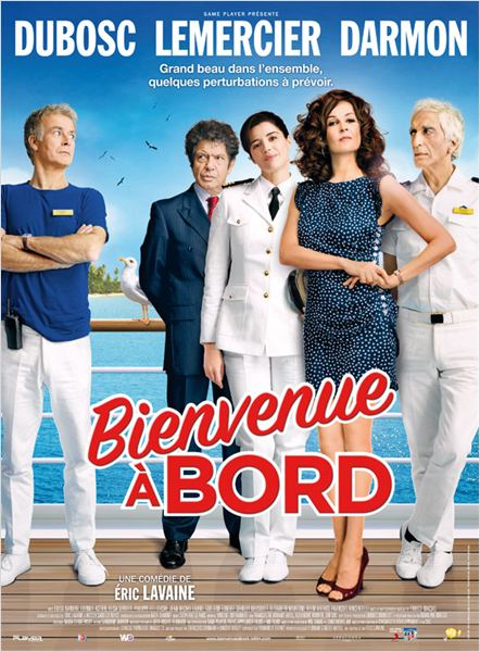 Bienvenue &#224; bord : affiche