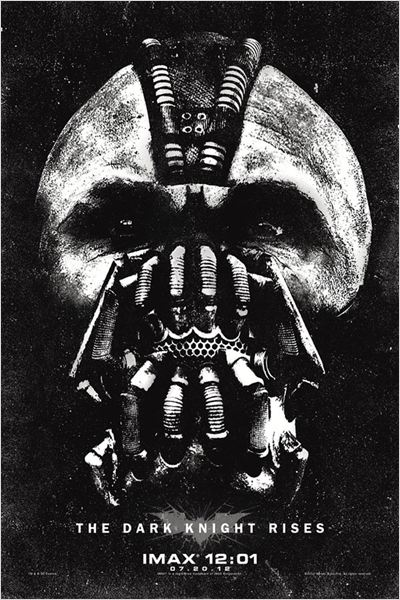 The Dark Knight Rises : Affiche Christopher Nolan