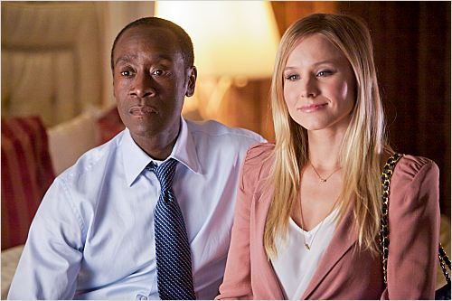 House of Lies : photo Don Cheadle, Kristen Bell
