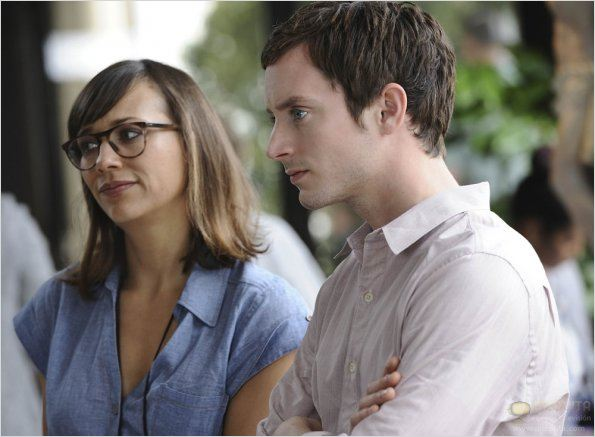 Photo Elijah Wood, Rashida Jones