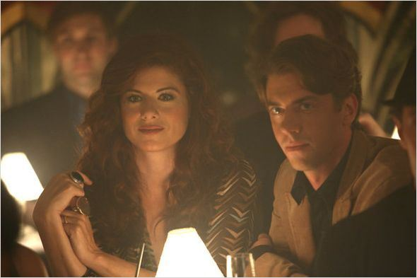 Smash : photo Christian Borle, Debra Messing