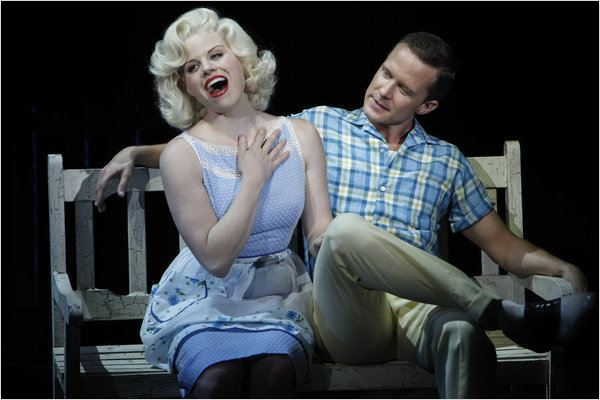 Smash : photo Megan Hilty, Will Chase