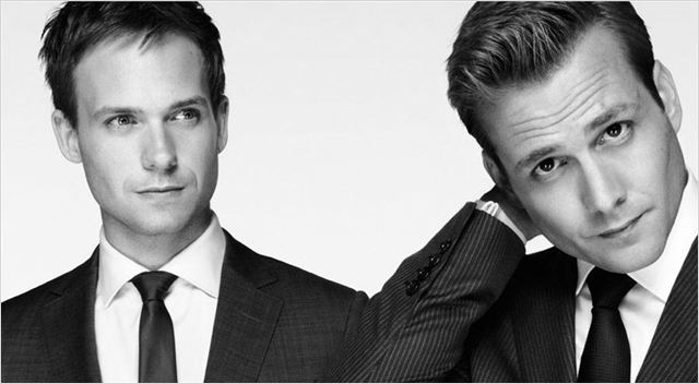 Photo Gabriel Macht, Patrick J. Adams