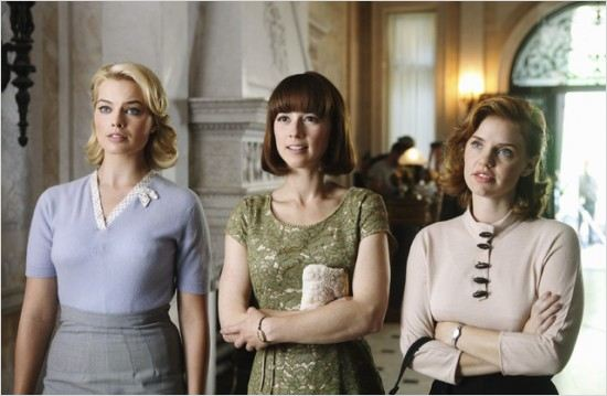 Photo Karine Vanasse, Kelli Garner, Margot Robbie