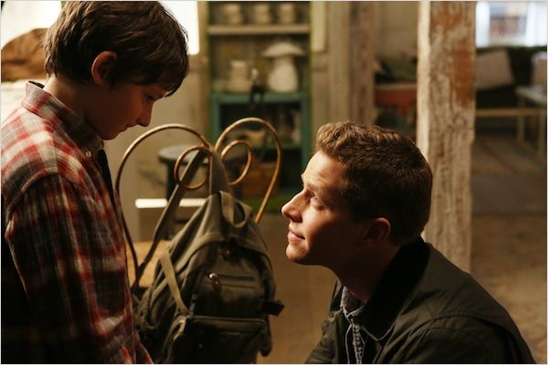 Photo Jared Gilmore, Josh Dallas