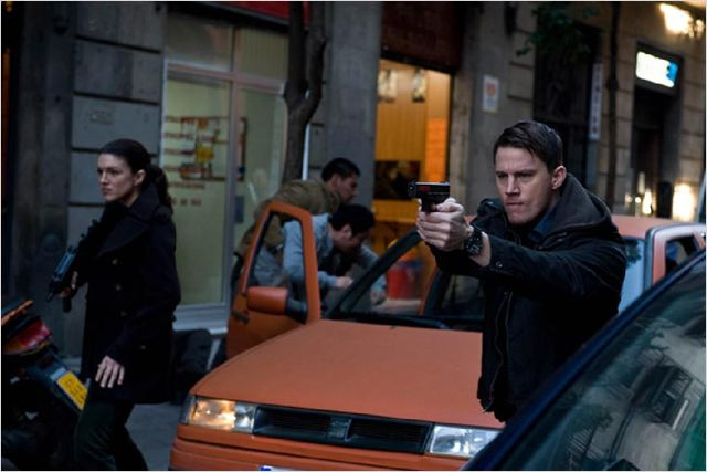 Pi&#233;g&#233;e : Photo Channing Tatum, Gina Carano, Steven Soderbergh