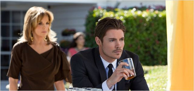 Photo Josh Henderson, Linda Gray