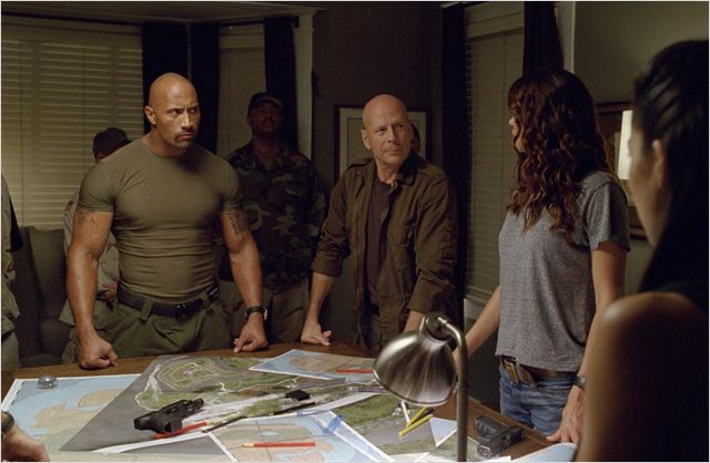 G.I. Joe : Conspiration : Photo Adrianne Palicki, Bruce Willis, Dwayne Johnson