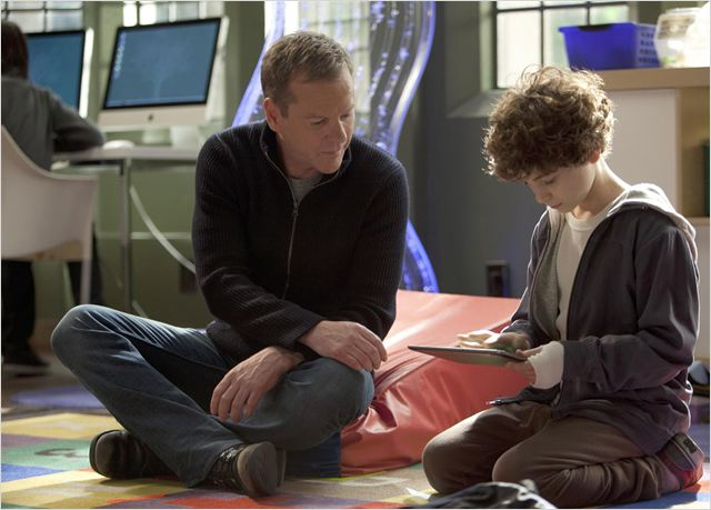 Photo David Mazouz, Kiefer Sutherland