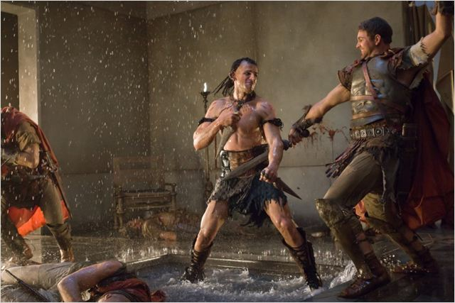 Spartacus : Le sang des gladiateurs : photo Steve Dunlevy