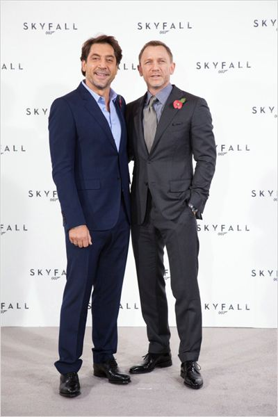 Skyfall : photo Daniel Craig, Javier Bardem