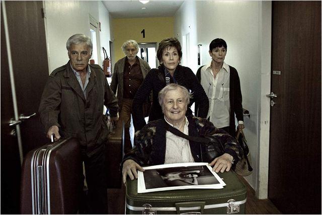 Et si on vivait tous ensemble? : Photo Claude Rich, Geraldine Chaplin, Guy Bedos, Jane Fonda, Pierre Richard
