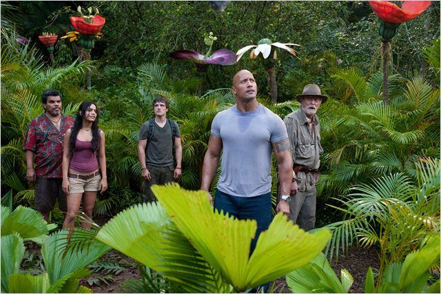Voyage au centre de la Terre 2 : L'île mystérieuse : Photo Brad Peyton, Dwayne Johnson, Josh Hutcherson, Luis Guzman, Michael Caine