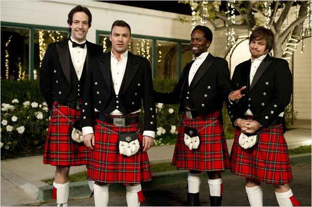 The Wedding Band : photo Brian Austin Green, Derek Miller, Harold Perrineau, Peter Cambor