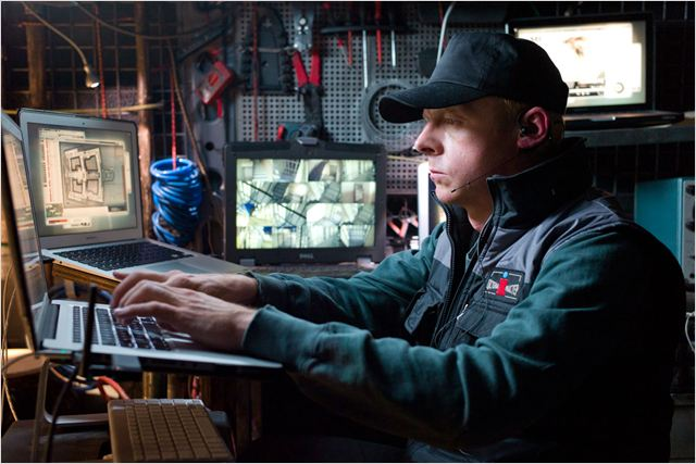 Mission : Impossible - Protocole fantôme : photo Brad Bird, Simon Pegg