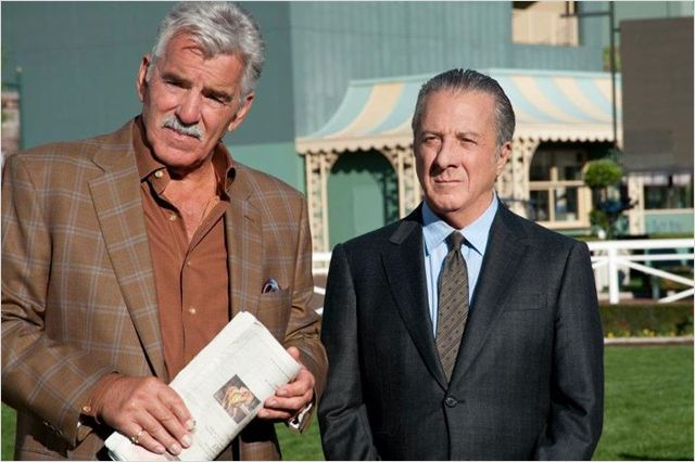 Luck : photo Dennis Farina, Dustin Hoffman