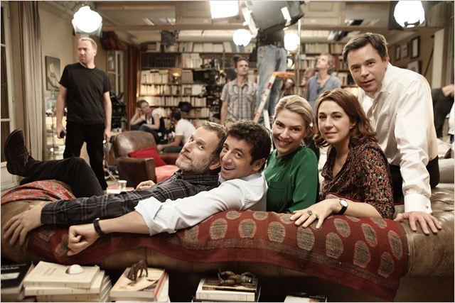 Le Prénom : Photo Charles Berling, Guillaume De Tonquédec, Judith El Zein, Patrick Bruel, Valérie Benguigui