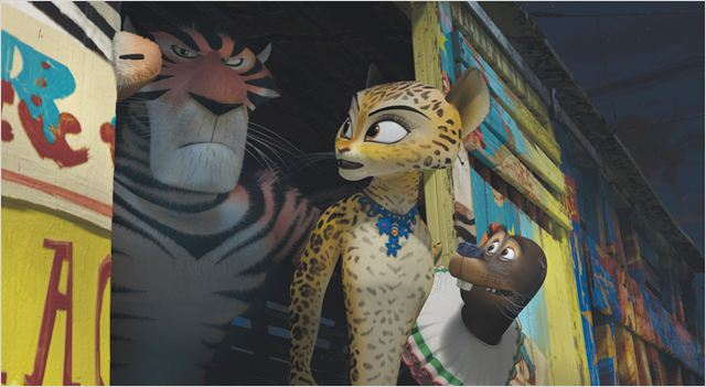 Madagascar 3, Bons Baisers D'Europe : photo