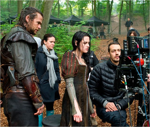 Blanche-Neige et le chasseur : Photo Chris Hemsworth, Kristen Stewart, Rupert Sanders