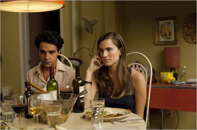 Girls : photo Allison Williams, Christopher Abbott