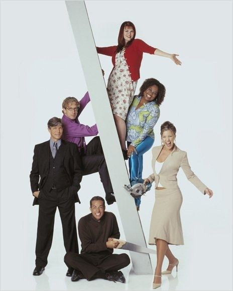 Less Than Perfect : photo Andrea Parker, Andy Dick, Eric Roberts, Sara Rue, Sherri Shepherd