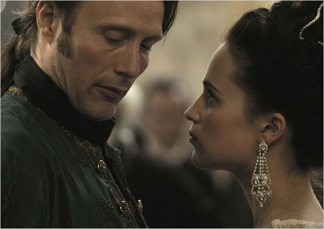 Royal Affair : Photo Alicia Vikander, Mads Mikkelsen