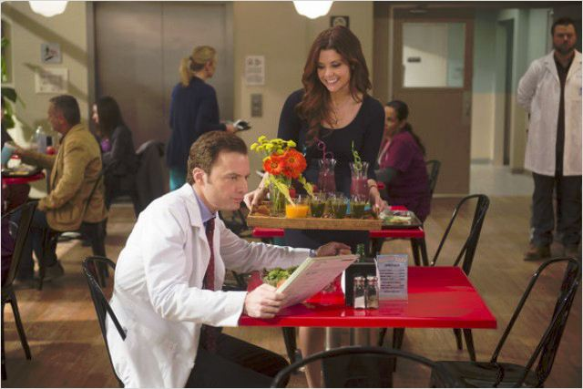Photo JoAnna Garcia Swisher, Justin Kirk