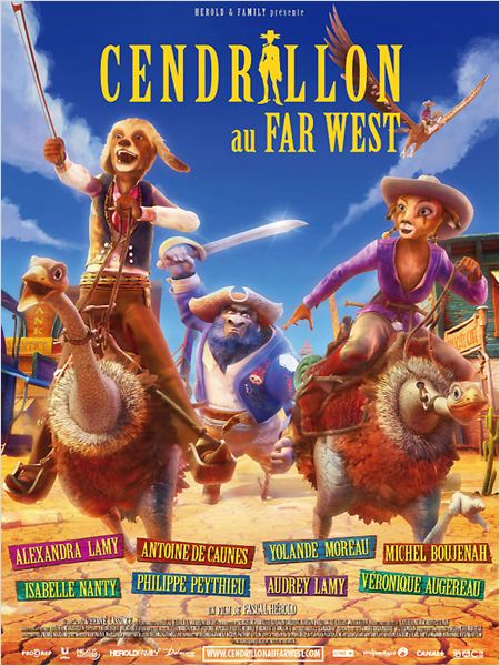 [MULTI] Cendrillon au Far West [DVDRiP]