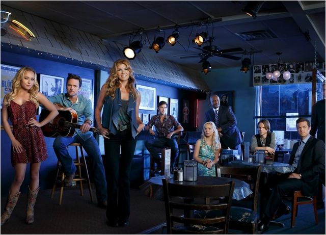Photo Charles Esten, Clare Bowen, Connie Britton, Eric Close, Hayden Panettiere