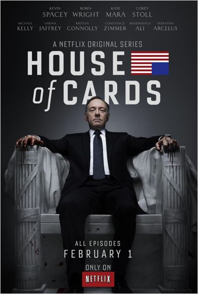 House of Cards (US) : affiche Kevin Spacey