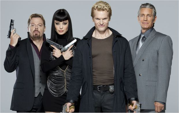 Bullet in the Face : photo Eddie Izzard, Eric Roberts, Kate Kelton, Max Williams