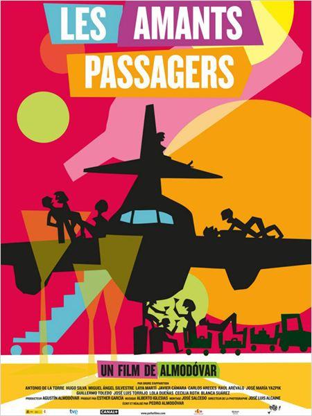 Les Amants passagers : affiche