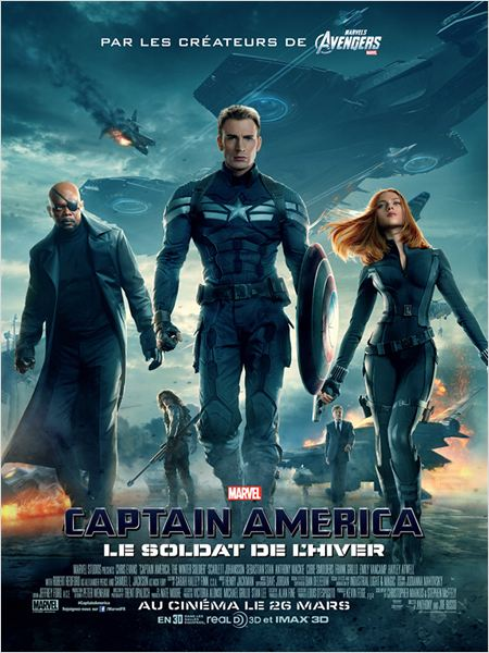 Captain America, le soldat de l'hiver streaming vk vimple youwatch