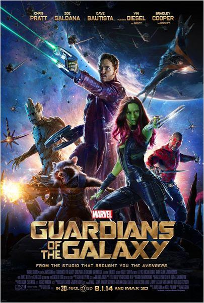 Les Gardiens de la Galaxie : Affiche