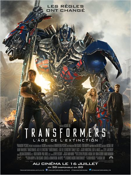 Transformers : l'âge de l'extinction [FRENCH-WEBRIP]