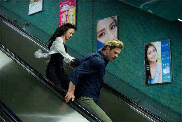 Hacker : Photo Chris Hemsworth, Tang Wei