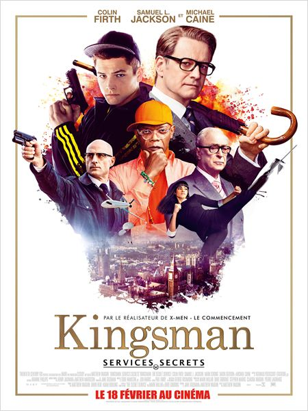 Kingsman : Services secrets [BDRip] [TrueFrench]