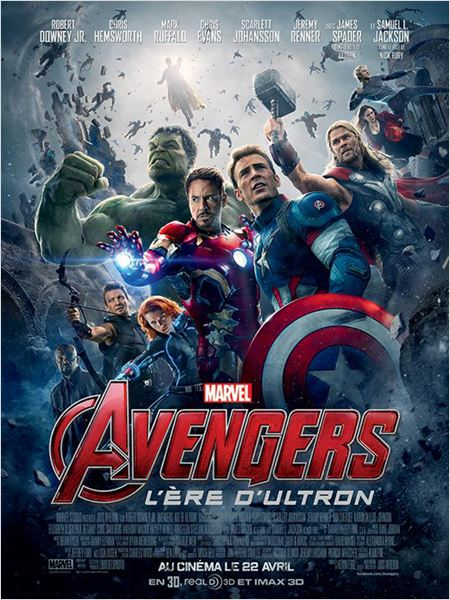 Avengers : L'ère d'Ultron ddl