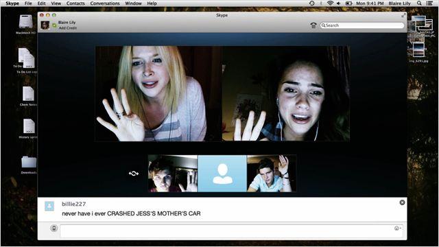 Unfriended : Photo Moses Jacob Storm, Renee Olstead, Shelley Hennig, Will Peltz