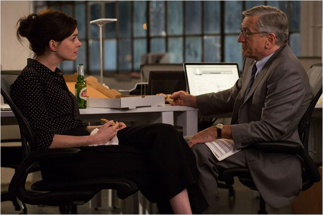 Le Nouveau stagiaire : Photo Anne Hathaway, Robert De Niro